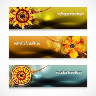 Raksha bandhan banners