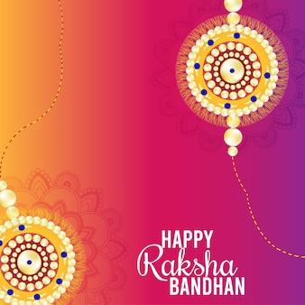 Raksha bandhan indiase festival wenskaart