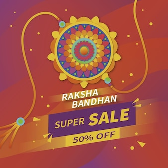 Raksha bandhan verkoopbanner