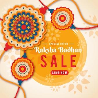 Raksha bandhan verkoopconcept