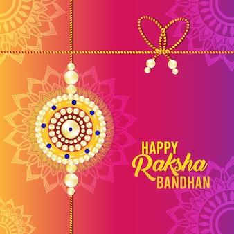 Raksha bandhan viering achtergrond