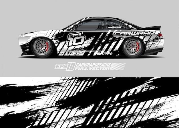 Rally auto livrei ontwerpen