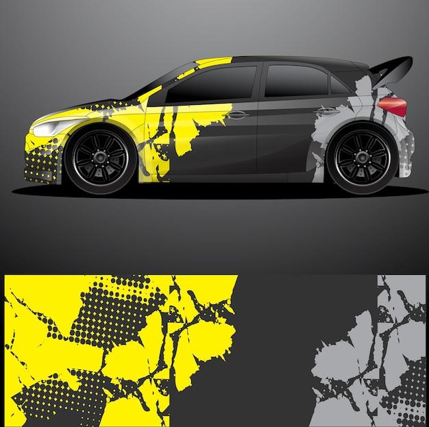 Rally auto sticker grafische wrap