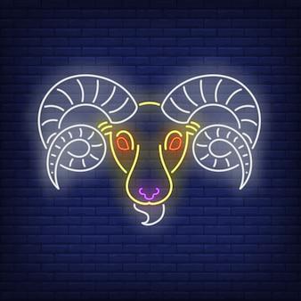 Ram neonreclame