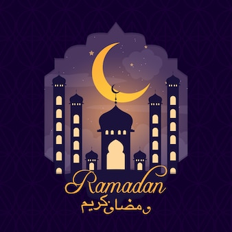 Ramadan achtergrond concept