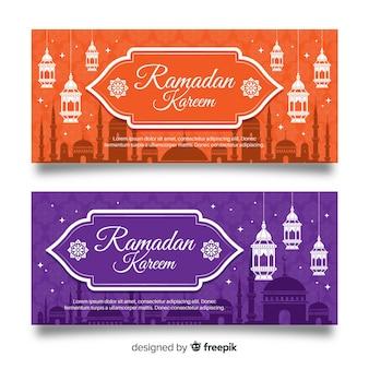 Ramadan-banners