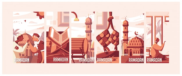 Ramadan-illustraties