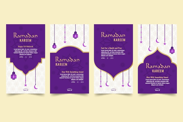 Ramadan instagram-verhalencollectie