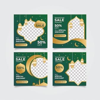 Ramadan instagram verkooppost