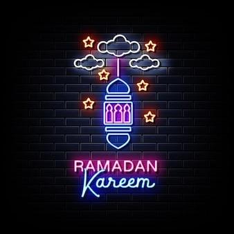 Ramadan kareem-illustratie voor de viering van het festival van de moslimgemeenschap Premium Vector