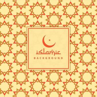 Ramadan kareem islamitische achtergrond patroon