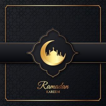 Ramadan kareem islamitische afbeelding ontwerp