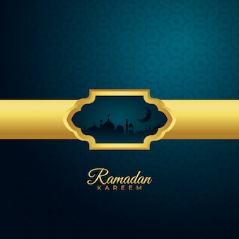Ramadan kareem seizoen achtergrond