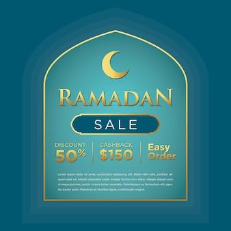 Ramadan kareem social media-bericht