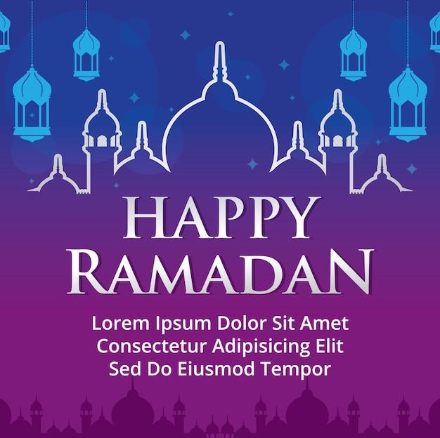 Ramadan kareem vectorillustratie.