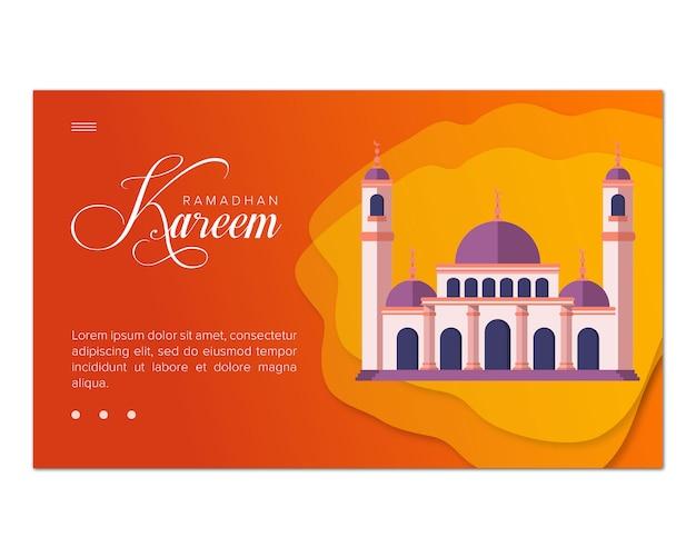 Ramadhan kareem illustratie