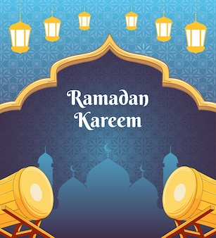 Ramdan kareem ontwerp