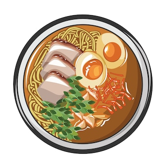 Ramen noodle japanse eetcultuur