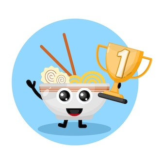 Ramen noodles kampioenen trofee
