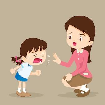 Rampage meisje en leraar