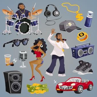 Rap muziekelementen