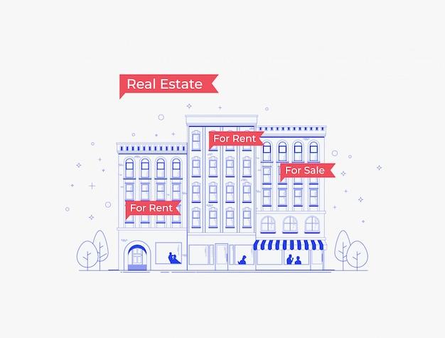 Real estate company gebouw