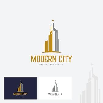 Real estate en office logo design