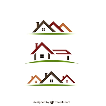Real estate logo's