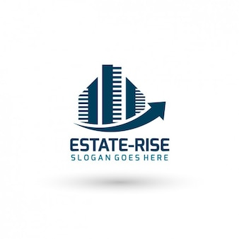 Real estate template logo