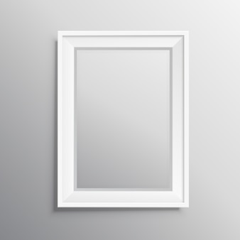 Realisitc fotolijst mockup display