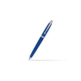 Realistick pen met schaduw