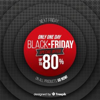 Realistisch black friday-aanbod