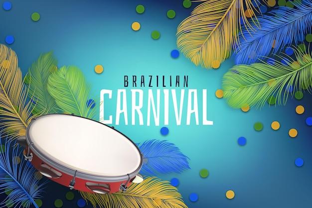 Realistisch braziliaans carnaval
