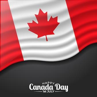 Realistisch canada-dagconcept