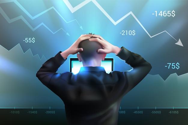 Realistisch faillissementsconcept