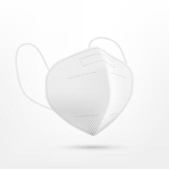Realistisch ffp2-gezichtsmasker