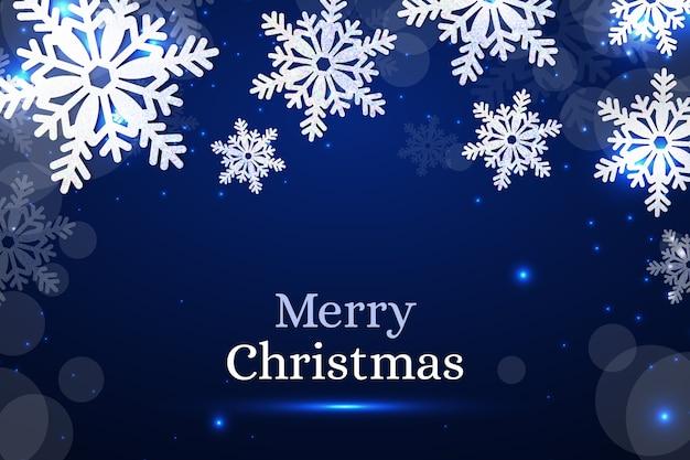 Realistisch kerstmisconcept als achtergrond