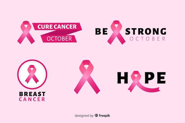 Realistisch lint borstkanker bewustzijn
