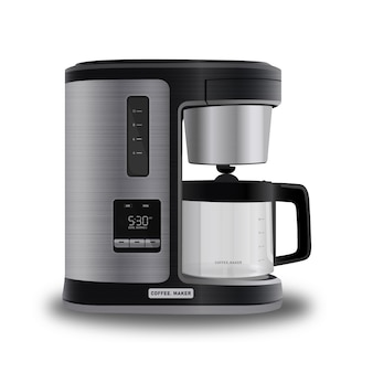 Realistisch modern ogend koffiezetapparaat