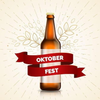 Realistisch oktoberfestconcept