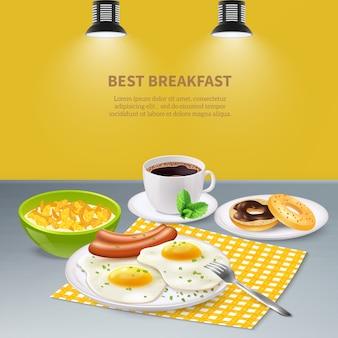 Realistisch ontbijt