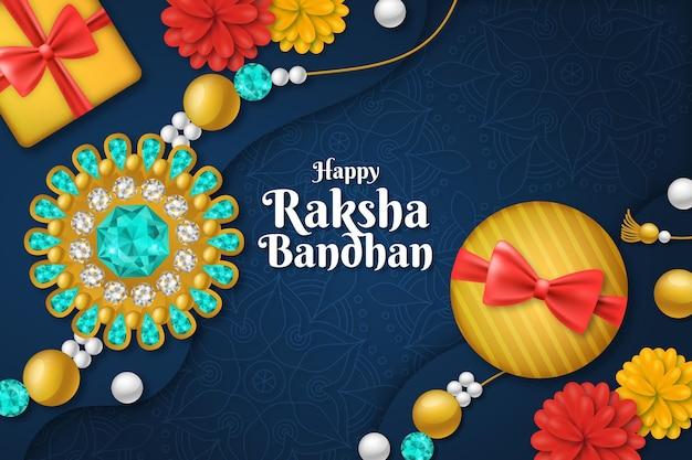 Realistisch raksha bandhan-concept
