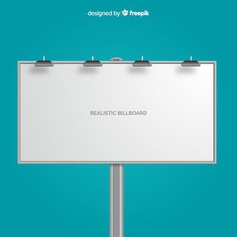 Realistisch reclamebord