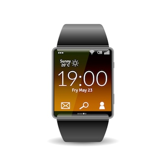 Realistisch smart watch