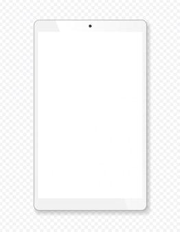 Realistisch tablet draagbaar computermodel