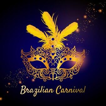 Realistisch thema voor braziliaans carnaval