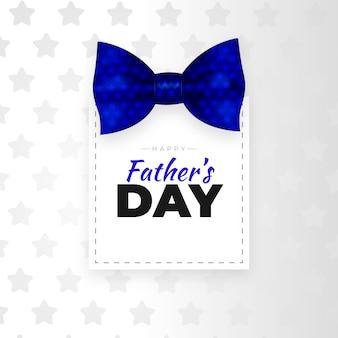 Realistisch vaderdagconcept