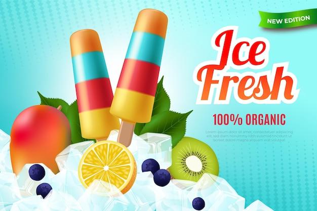 Realistisch vers biologisch ijs