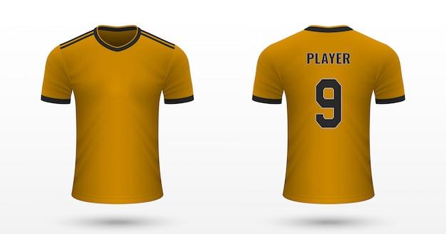 Realistisch voetbalshirt