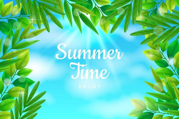 Realistisch zomerbehang